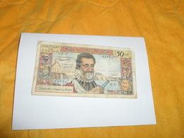 BILLET ANCIEN DE 50 NF NOUVEAU FRANCS HENRI IV. / C5-11-1959.C. / B.37 91854.. - 1959-1966 Nouveaux Francs