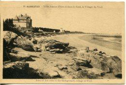 CPA -  NOIRMOUTIER - VILLA JEANNE D'ARC, AU LOIN, VILLAGE DU VIEIL - Noirmoutier