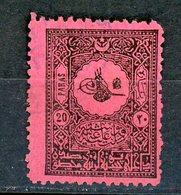 TURQUIE: T . TAXE N° Yvert 33 Obli. - 1921-... République