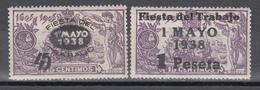 1938    Edifil Nº  761 / 762 /**/, BIEN CENTRADOS. - 1931-Hoy: 2ª República - ... Juan Carlos I