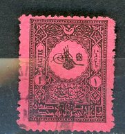 TURQUIE: T . TAXE N° Yvert 34 Obli. - 1921-... République