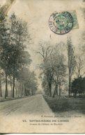 CPA -  NOTRE-DAME-DE-LIESSE - AVENUE DU CHATEAU DE MARCHAIS - France