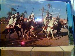 MAROCCO MAROC FANTASIA CAVALLI FUCILI S1970 HA7678 - Marocco