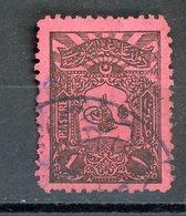 TURQUIE: T . TAXE N° Yvert 36 Obli. - 1921-... République