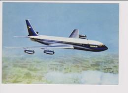 Rppc BOAC B.O.A.C. British Overseas Airways Corporation Boeing 707 Jetliner Aircraft - 1946-....: Moderne