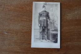 Cdv Militaire Second Empire   Arme Du Genie Sapeur Avec Son Bonnet De Police  Fabre Montpellier - Guerre, Militaire
