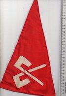REF ENV : Fanion Flag Pennant Stendardo Touristique Ancien : Biel / Bienne Canton Berne - Obj. 'Souvenir De'