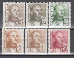 1948 - 1954     Edifil Nº  1020 / 1023, 1020a , 1022a , /**/, - 1931-Hoy: 2ª República - ... Juan Carlos I