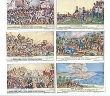 Etapes De L'Histoire ARBELLES Perse IRAN Etc (401) X 6 Série Complète Didactique Pub:Liebig 110 X 70 Mm 2 Scans TB - Liebig