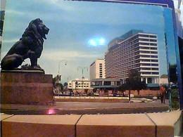 EGITTO EGYPT THE  NILE  HOTEL CAIRO  V1964 ITALIA HA7680 - Cairo