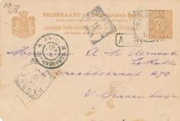 Nederlands Indië - 1901 - 7,5 Cent Briefkaart Van VK MOKOMOKO Naar Den Haag / Nederland - Nederlands-Indië