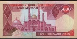 B 56 - IRAN Billet De 5000 Rials N° 139 - Iran
