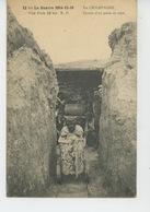 GUERRE 1914-18 - EN CHAMPAGNE - Entrée D'un Puits De Sape - Guerre 1914-18