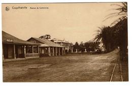 Congo Belge - Coquilhatville - Mbandaka - Avenue Du Commerce - Edit. Fernandes & Pina's - 2 Scans - Congo Belge - Autres