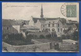 OUESSANT    L'église Et Le Bourg    écrite En 1919 - Ouessant
