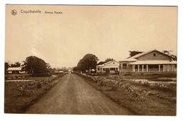 Congo Belge - Coquilhatville - Mbandaka - Avenue Royale - Edit. Fernandes & Pina's - 2 Scans - Congo Belge - Autres