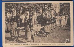 KERGOAT-en-QUEMENEVAN   La Procession    Animées  écrite En 1936 - France