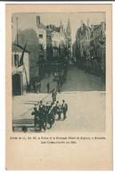 Entrée De L.L. AA. RR. Le Prince Et La Princesse Albert De Belgique à Bruxelles - Les Combattants De 1830 - 2 Scans - Royal Families
