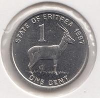 @Y@  Eritra   1 Cent  1991   Unc (1002) - Erythrée