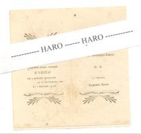 SEREZE - THIMISTER - Souvenir De Baptème D'Auguste RAHIER En 1921 (D) - Naissance & Baptême