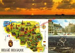 Landkaart - België-Belgique - België
