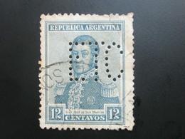 ARGENTINIEN   , Firmenlochung , Perfin - Argentinien