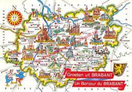 Kaart - Brussel Bruxelles - België