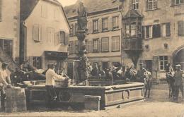 MALERISCHER BRUNNEN IN EINEM VOGESENORTCHEN - Autres Communes