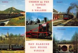 Chemin De Fer à Vapeur Des 3 Vallées - Treignes - Viroinval