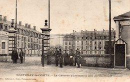 10079. CPA 85 FONTENAY LE COMTE. LA CASERNE D'INFANTERIE DITE DU CHAFFAULT 1904 - Fontenay Le Comte