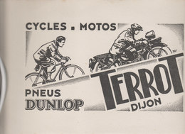 BUVARD    CYCLES MOTOS   PNEUS DUNLOP    TERROT  DIJON - Sports