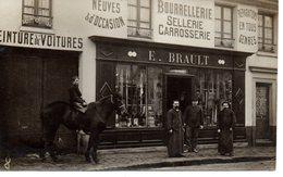 Nanteuil : Sellerie E.Brault (signé Par Lui Au Dos) - Nanteuil-le-Haudouin