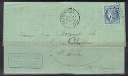 La Couronne (Charente) : LAC Ch. Becoulet, Càd 17 Et GC 1182, 1872. - 1849-1876: Période Classique