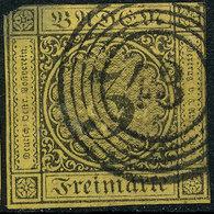 Stamp Baden 1851-53 3kr Used Lot21 - Bade