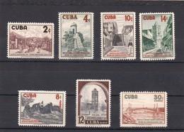 Cuba Nº 470 Al 473 Y A175 Al A177 - Cuba