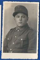 Carte Photo   Soldat Allemand   Karlsruhe-Durlach - War 1939-45
