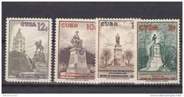 Cuba Nº 524 Al 527 - Cuba