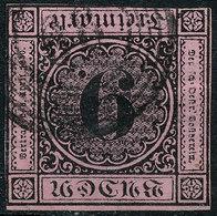 Stamp Baden 1851-53 9kr Used Lot26 - Bade