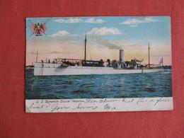 Dynamite Cruiser Vesuvius  US  Ref 3150 - Oorlog