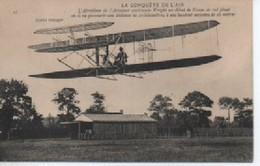 LA CONuete De L Air  L Aeroplane De Wright - Aviateurs