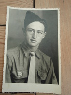 Cpa Photo D'un Militaire. En Souvenir D'Allemagne - Uniformes