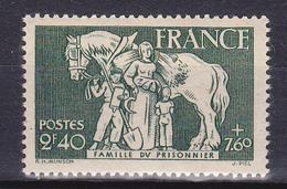 N° 586: Un Timbre Neuf Impeccable Sans Charnière - France
