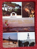 SPAIN CALENDARIO DE BOLSILLO CALENDAR PUERTO REAL CÁDIZ ANDALUCÍA ANDALUSÍA ESPAGNE ESPAÑA TIERRA DE MAR Y PINARES 2002 - Tamaño Pequeño : 2001-...