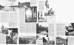 BRETAGNE Et PECHE ( PORT-MANECH / GUIMILIAU / STJEAN-DU-DOIGT / ELEORN / KERJEAN/FOLGOET / ST HERBOT / FAOUET ) 1947 (1 - Bretagne