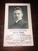 Sterbebild Wk1 Ww1 Bidprentje Avis Décès Deathcard IR17 FAY VERMANDOVILLERS 20 März 1915 Patrouille Aus Hutthurm - 1914-18