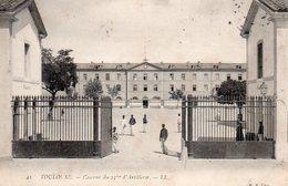 10089. CPA 31 TOULOUSE. CASERNE DU 23è D'ARTILLERIE 1906 - Toulouse