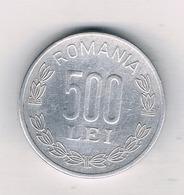 500 LEI 2000 ROEMENIE /0922/ - Roumanie
