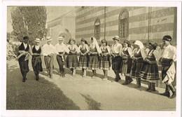 31458. Postal RODI (Rodas) Dodecaneso. Grecia. Baile Popular LA SUSTA - Grecia