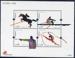 Rowing, Shooting, Rhythmicgymnastics, Ride Riding - Portugal 2008 -  Sheet MNH** - Briefmarken