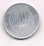 1000 LEI 2004 ROEMENIE /0924/ - Roumanie